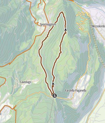 "Cartina / 803 ""Monte Corno"""