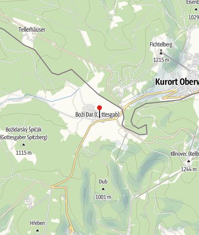 Map / Grünes Haus (Zelený Dům)