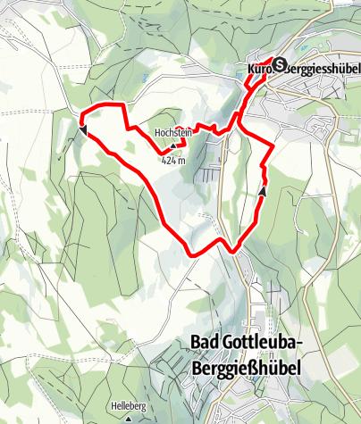 Karte / Auf den Spuren des Bergbaus