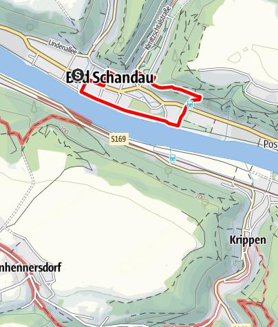 Mapa / Auf dem Luchsweg