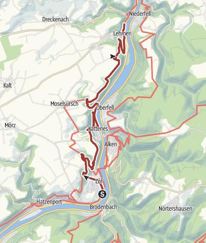 Kaart / Würzlaysteig