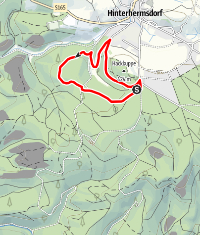 Mapa / Kinderabenteuer Waldhusche