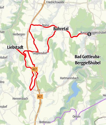 Karte / Die alte Poststraße