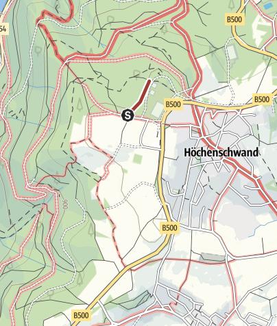 Karte / Höchenschwand: Pirschpfad