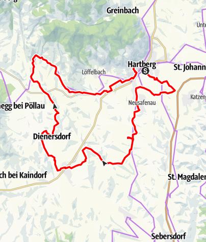 Karte / VeloVital Ökotour
