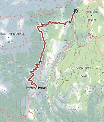 "Karte /  Naturlehrpfad ""Naturgrenze – Grenzkultur"""