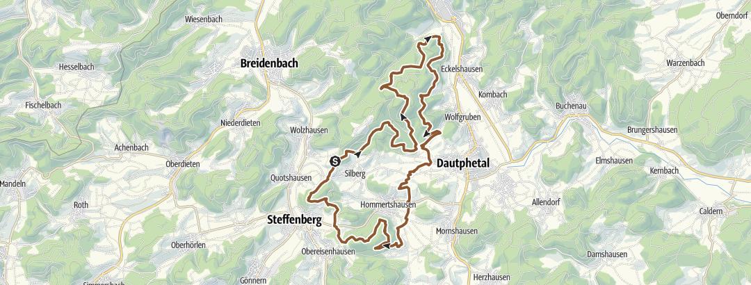 Karte / Rund um Silberg