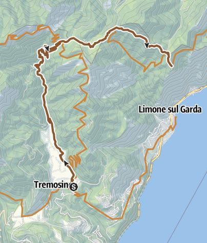 Karte / Vesio- Cima Mughera