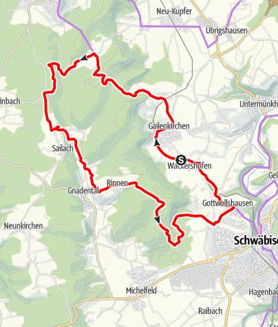 Karte / FamilienTour -  Sportlich