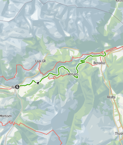 Karte / Trans Ruinaulta / 656