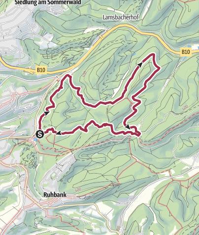 Karte / Rundwanderung Kleiner Arius