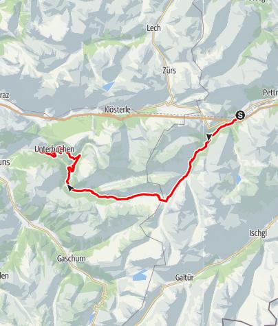 Karte / Montafon Arlberg Marathon