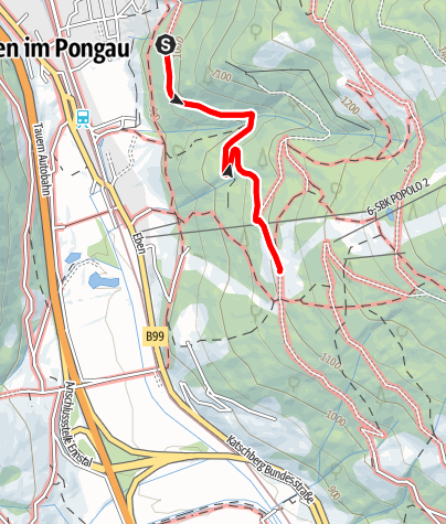 Karte /  KITIWAPF  Kinder-Tiere-Wanderpfad Entdecker-Weg