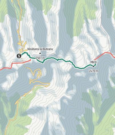 Hartă / Drumeție în Munții Făgăraș