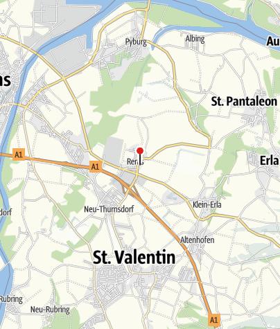 Mapa / Filialkirche Rems bei St. Valentin