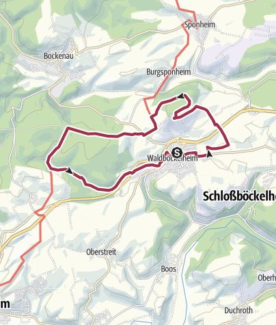"Map / ""Auf Leo`s Spuren"""