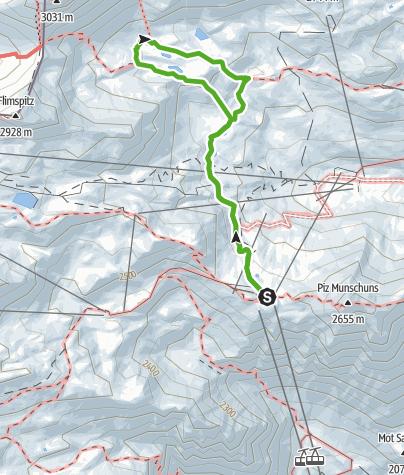 Map / Seenwanderung