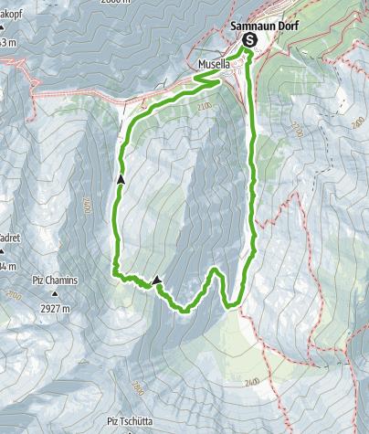 Karte / Stammerjoch