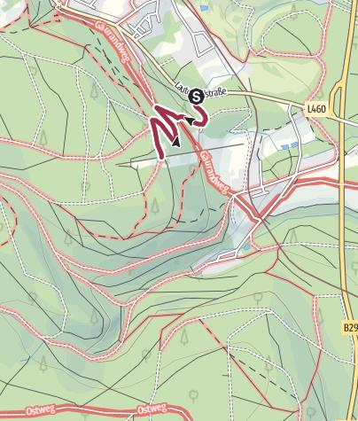 Karte / Zur Berghütte Lauterbad