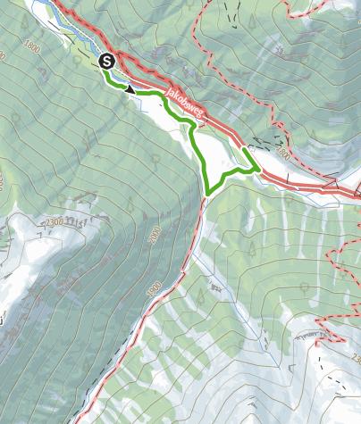 Karte / Bärenthemenweg - «senda da l'uors»