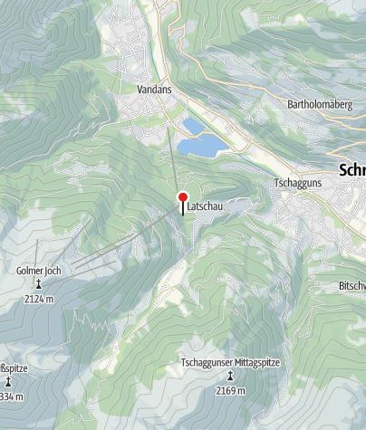 Karte / Krafthaus Latschau