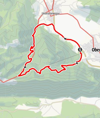 Karte / Wanderung - Kolbensattel - Schleifmühl Runde