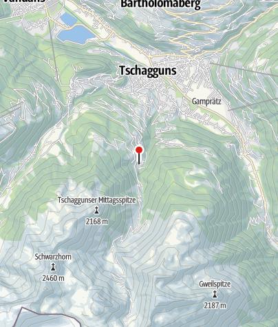 Karte / Schwefelquelle