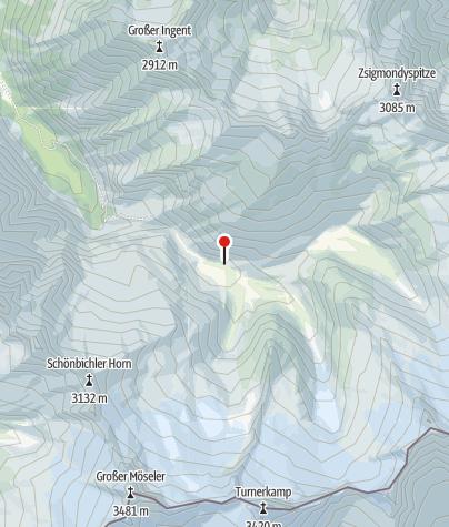Kaart / Alpenrosenhütte