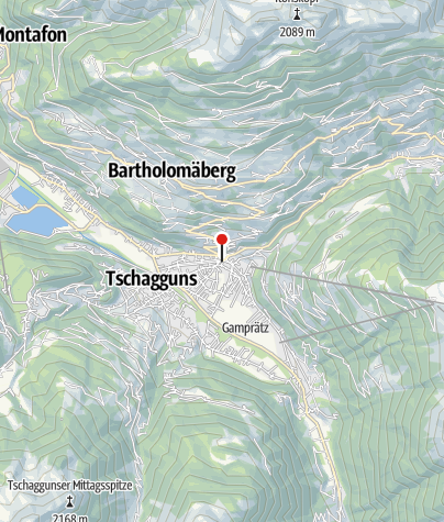 Karte / Batlogg-Denkmal