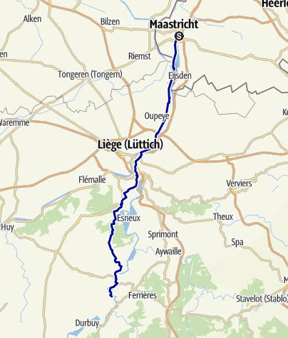 Kaart / Maastricht - Sy