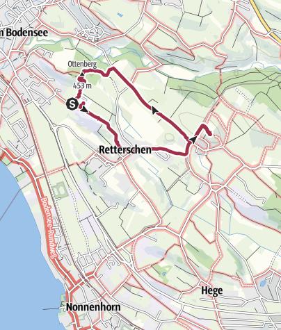 Karte / Von Kressbronn zur Antoniuskapelle