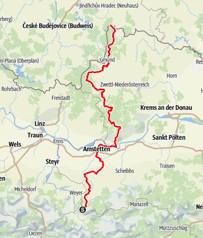 Karte / Eisenwurzenweg 608