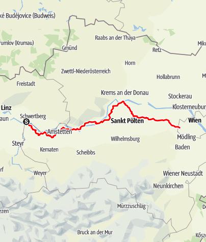 Map / Jakobsweg
