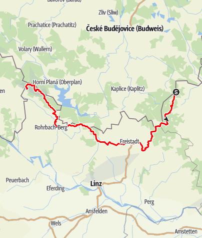 Mapa / Nordwaldkammweg