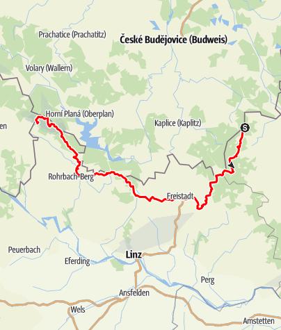 Térkép / Nordwaldkammweg