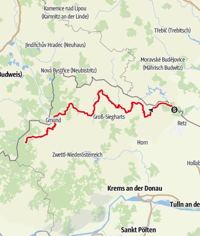 Mapa / Ostösterreichischer Grenzlandweg 607