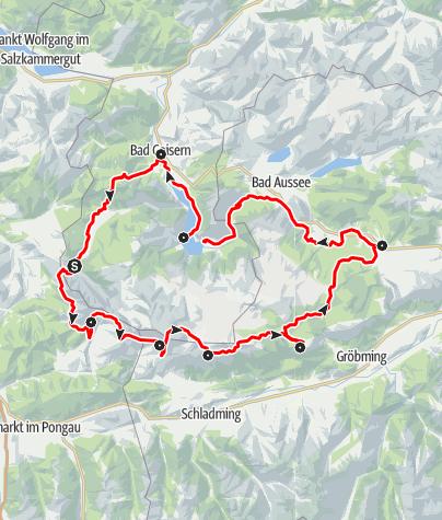 Map / Dachstein Rundwanderweg