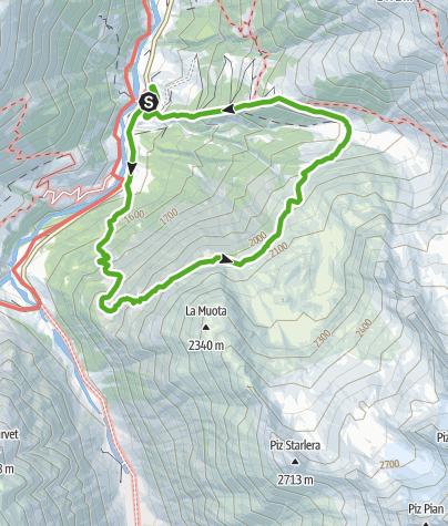 Karte / Natur Pur im Val Medel