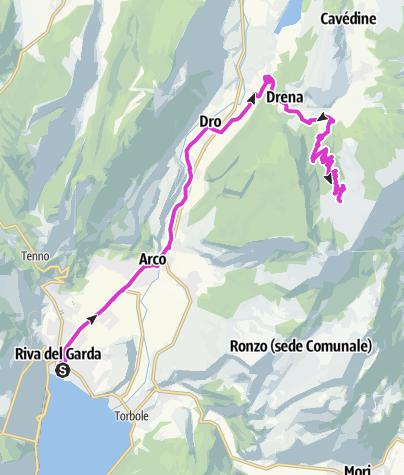Karte / Drena - Malga Campo