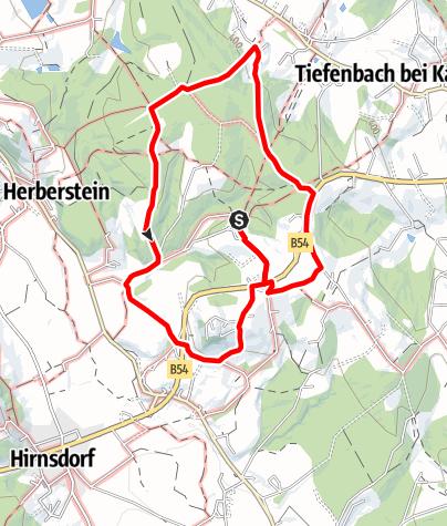 Karte / Fieberbründl Rundweg