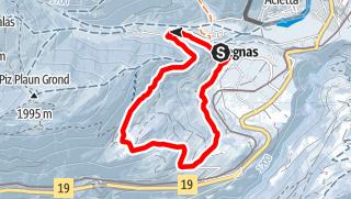 Map / Segnas - Prau Sura Rundtour