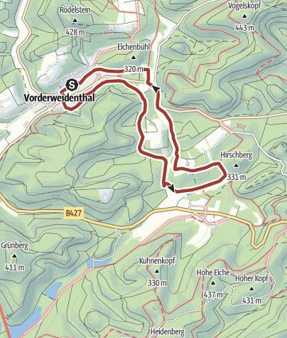 Karte / Bethofweg