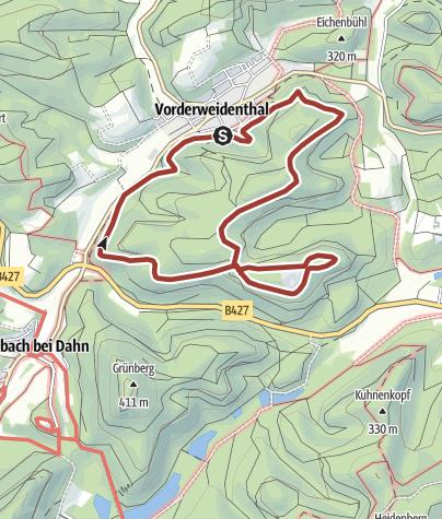 Kaart / Keeseckweg