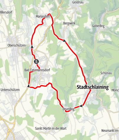 "Karte / Radarena L4 - ""ASVÖ Radjugendtour 2006 - 4.Etappe"""
