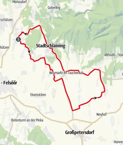 "Karte / Radarena L9 - ""Um den Tauchenbach"""