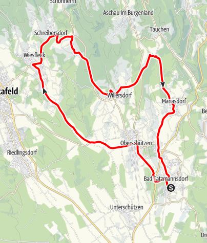 """Karte / Radarena L10 - """"Auf und Ab"""""""