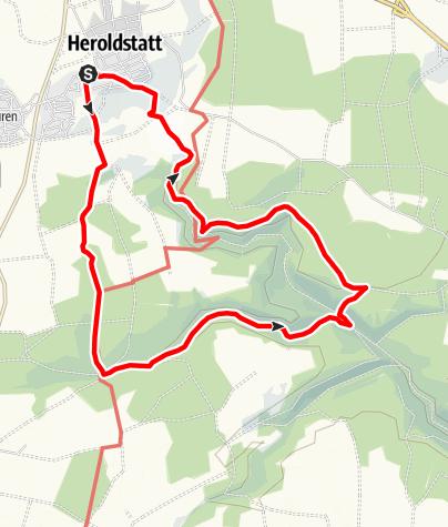 Karte / Heroldstatt-Tiefental-Tour