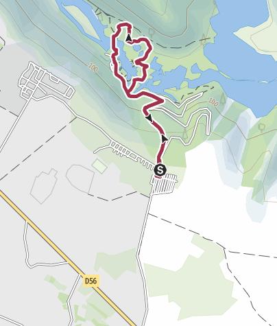 Map / Nationalpark Krka Rundwanderung