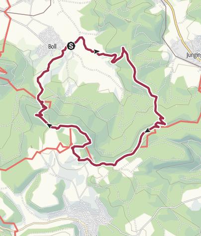 Karte / Den Zoller im Blick.
