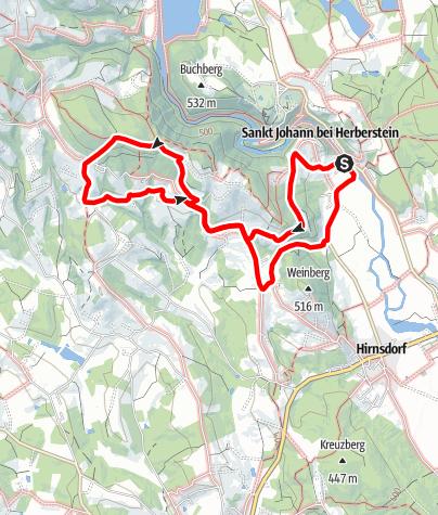 Karte / Hoferbergrunde